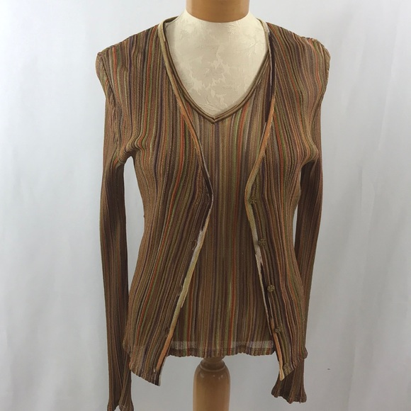 ef4b2c8c1a Missoni sweater set size M